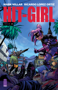 Hit Girl Issue 2 Cover